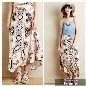 Maeve Anthropologie Buta Maxi Skirt